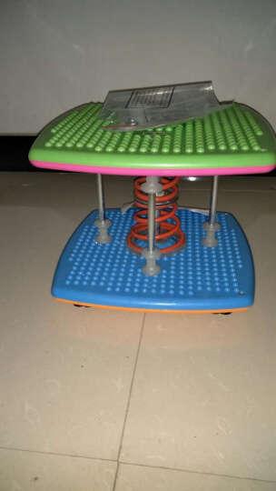 双弹簧减肥塑身扭腰机跳舞机家用运动器材踏步机健身扭扭乐扭腰盘 蓝色 晒单图