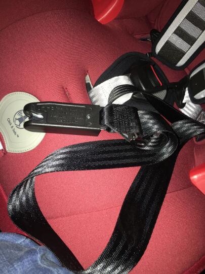 宝得适(Britax) britax宝得适超级百变王白金版9月12岁汽车儿童安全座椅 热情红 晒单图