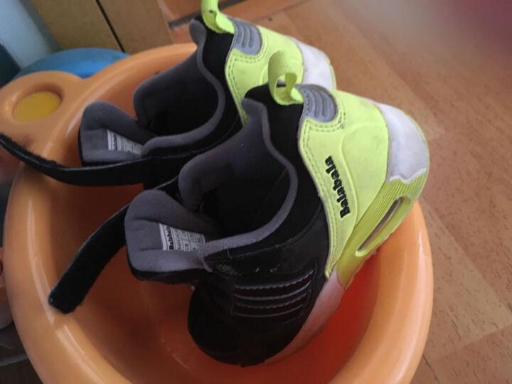 巴拉巴拉童鞋男童女童跑步鞋小中童鞋子冬季新款儿童运动鞋男 黑色 28 晒单图