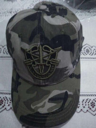 开妮特(Kenniter)帽子男夏户外休闲棒球帽迷彩防晒遮阳帽605 盾牌平顶迷彩 晒单图