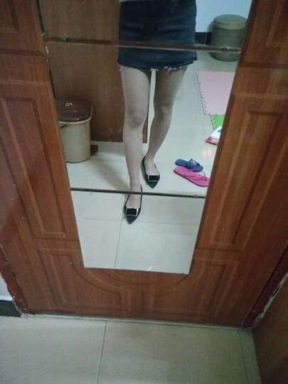 浪莎丝袜10双装 女士薄显瘦透肉包芯丝春秋款连裤袜 黑色6双+肤色4双 均码 晒单图