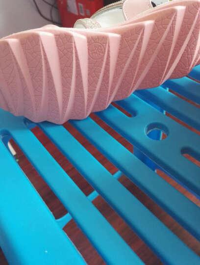 马西米亚(mse&mia) 女童凉鞋真皮2019夏季新款女童鞋韩版鱼嘴平底露趾儿童公主鞋 粉色 29码/内长18.7cm 晒单图