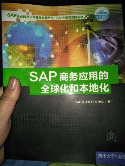 SAP企业信息化与最佳实践丛书·SAP中国研究院系列:SAP商务应用的全球化和本地化 晒单图
