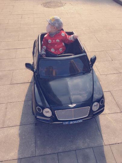 【宾利授权】儿童电动车大型四轮摇摆双驱遥控婴儿小孩玩具车可坐人汽车 红色双电双驱+全新中控+摇摆+双开门+皮座 晒单图