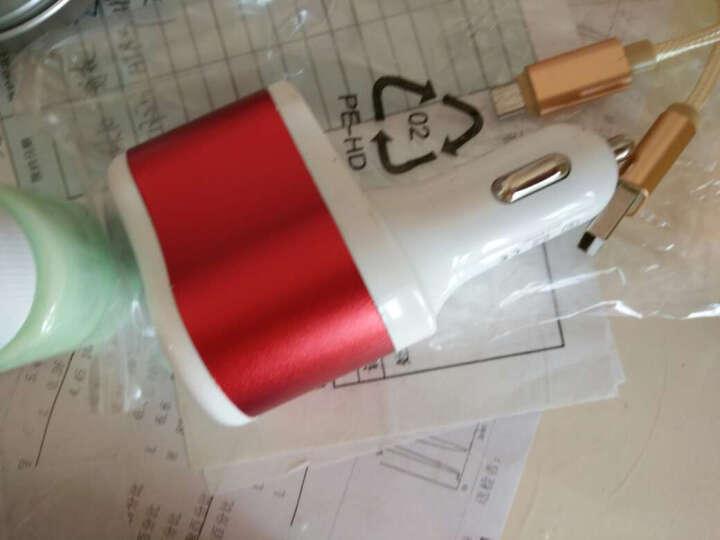 靓米媲美原装充电器插头手机充电头适用于苹果安卓oppo华为三星小米vivo魅族红米360 双USB-2.4A充电器(单个装) 晒单图