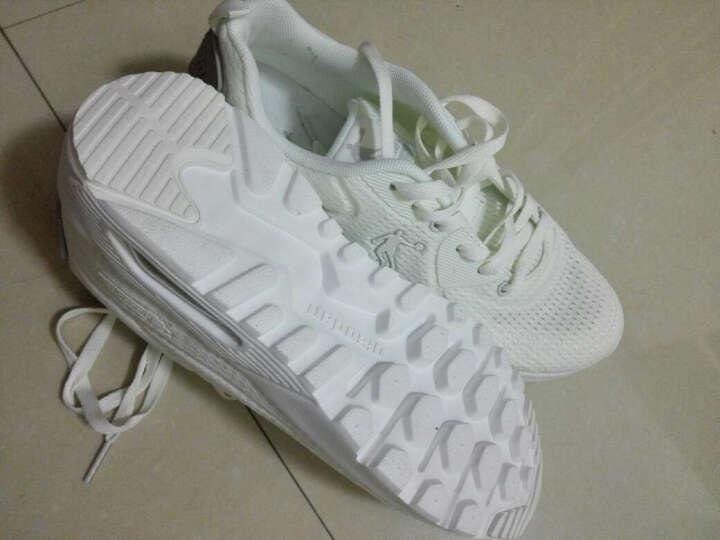 乔丹男鞋春季男子女子运动鞋休闲鞋复古鞋经典鞋气垫鞋 亚麻白 41 晒单图