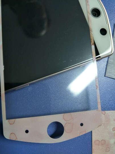 都米 手机保护膜 前钢化后闪粉彩膜 前后贴膜 适用于 美图M6 相亲相爱 晒单图