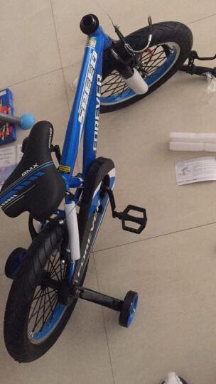 永久(FOREVER) 儿童自行车单车经典三脚架男女童车小孩宝宝婴幼儿脚踏车 12寸天蓝色 晒单图