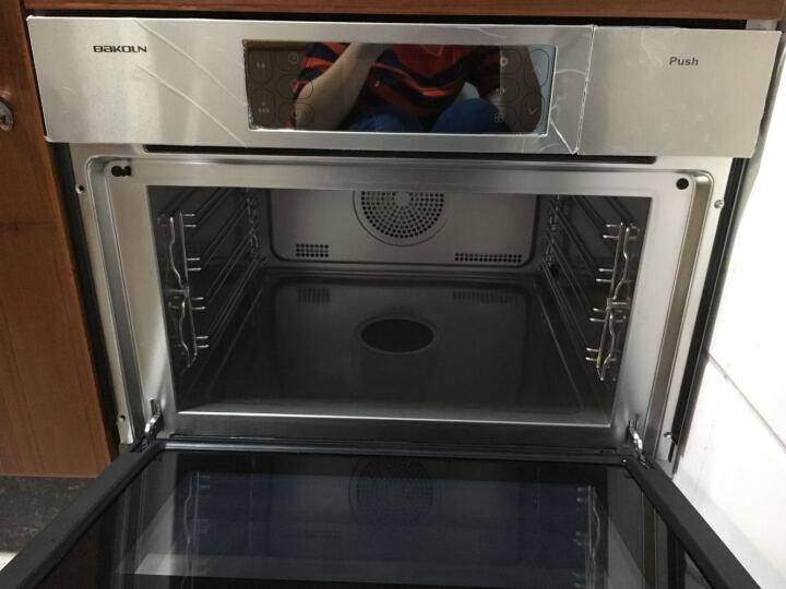 德国巴科隆(BAKOLN)蒸箱烤箱电蒸烤箱嵌入式家用56L大容量蒸汽烤炉蒸烤二合一体机BK56F 晒单图