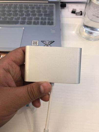 博扬(BOYANG) BY-07Z0401 Type-C转VGA+USB3.0转换器苹果MacBook集分线器USB-C可充电适配器连接线 晒单图