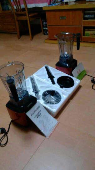 德国(AOJING) 奥劲破壁料理机榨汁机家用破壁机多功能 绞肉机搅拌机果汁机 红色 晒单图