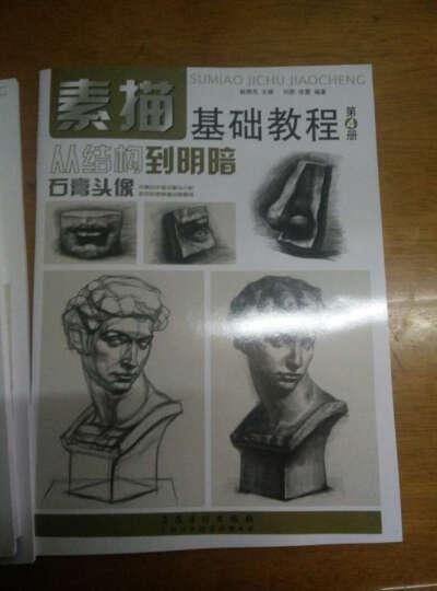 素描基础教程 4本铅笔素描从入门到精通 人物石膏几何体头像色彩静物线性结构高考艺考手绘素描 晒单图