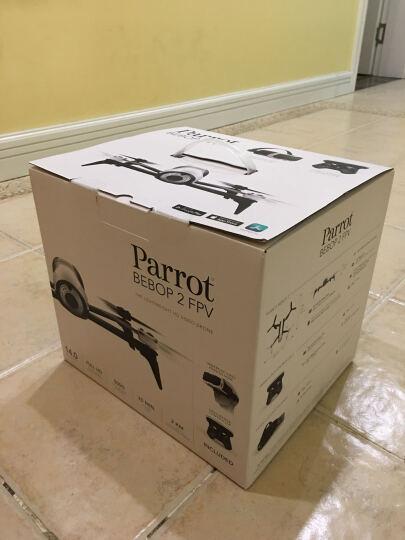 派诺特 Parrot Bebop2 无人机航拍飞行器FPV眼镜 白色 Bebop2 单机版 晒单图