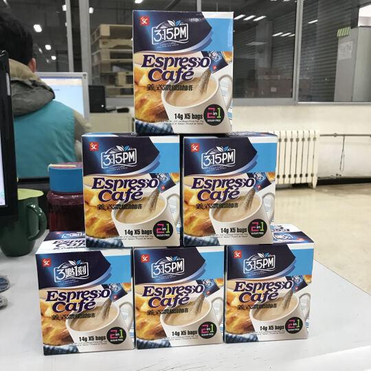 三点一刻  经典原味港式伯爵奶茶咖啡冲饮黑糖姜母茶多款可  台湾进口冲调休闲饮品盒装 浓缩咖啡二合一 晒单图