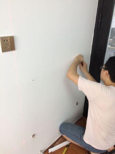 快朵小屋(KUAIDUOXIAOWU) 磁性钢化玻璃白板支架式可拼接固定挂式白板 90*120精英款带支架 晒单图