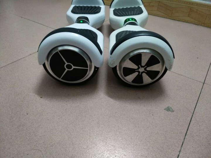 SJF 成人智能双轮电动平衡车思维车体感车独轮车代步车迷你自平衡车火星车儿童扭扭车两轮2轮 N3鬼怪旗舰版(6.5寸+蓝牙+礼包) 晒单图