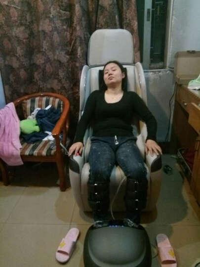 久工(LITEC)日式电动按摩沙发椅 家用小型智能蓝牙音乐全自动多功能SL导轨老人揉捏器办公老板椅 网格背 晒单图