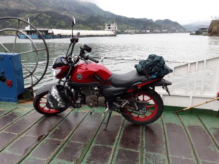 启典KIDEN摩托车 升级版KD150-G 单缸风冷150cc骑式车 珍珠白大货架款 晒单图