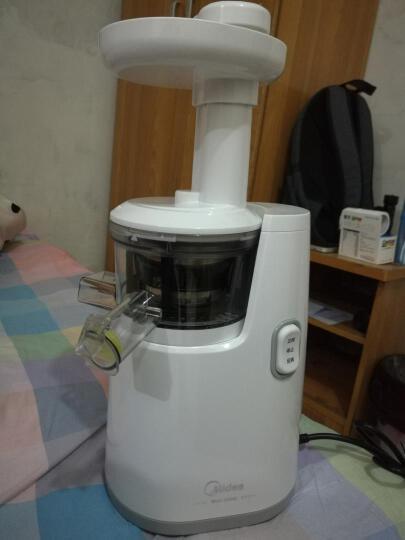 美的(Midea)原汁机 汁渣分离果汁机 多功能料理机 榨汁机家用WJS1221F 晒单图