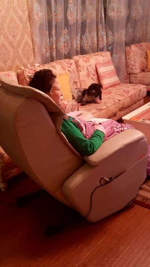 LITEC 久工多功能家用全身太空舱零重力全自动智能电动沙发商务按摩椅子LC5000 咖啡色 升级皮革款 晒单图