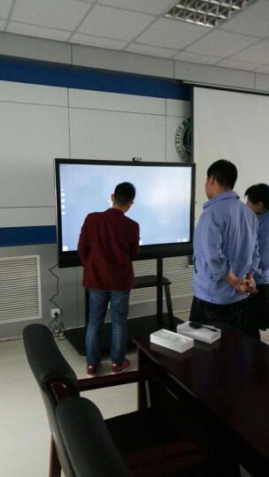 CVTOUCH会议平板 办公电子白板 交互式培训一体机 无线投影 幕布 电子显示屏 移动支架ST26 晒单图