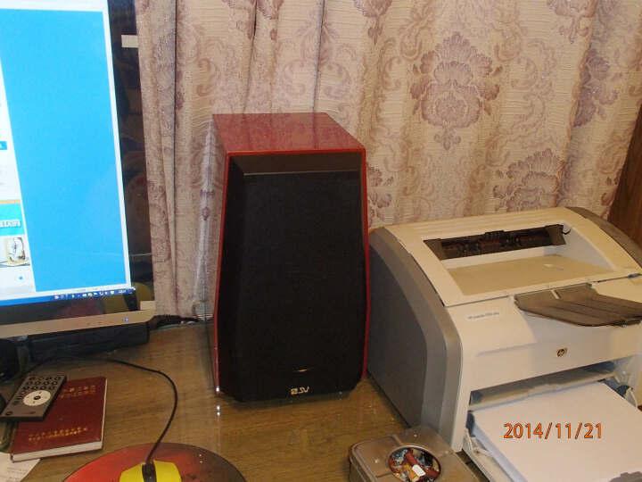 索威(SV)S850PRO 2.0声道 迷你音响 功放音响 无源电脑音响 书架箱(红色) 晒单图
