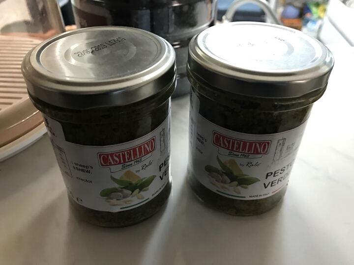 意大利进口 Castellino卡斯特利诺 意大利面酱 青罗勒酱 青酱180g 晒单图