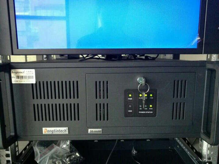 Dongtintech 东田4U工控机主机IPC-510M 研华G41支持XP 单网6串口 黑G41/单网 E7400(2.8GHz)/4G/1T/不含DVD 晒单图