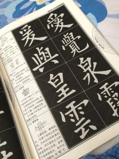 中国书法培训教程:欧阳询楷书教程(九成宫醴泉铭)(最新修订版) 晒单图