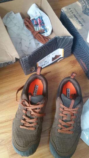 迈途(MERRTO) 迈途户外登山鞋男防滑防撞鞋头反绒皮低帮徒步鞋户外男鞋M18613 拿铁灰/男款 18613 42 晒单图