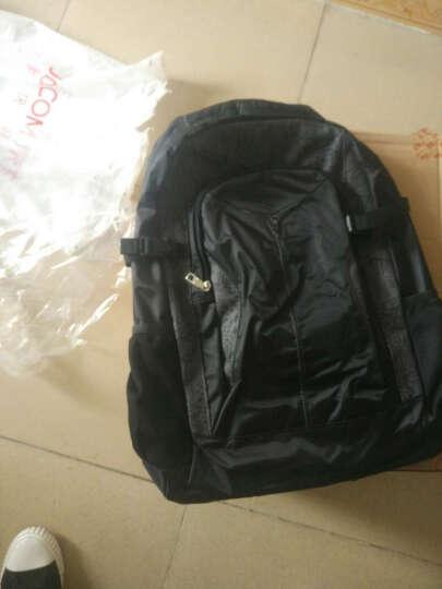 爱华仕(OIWAS)背包 时尚轻薄双肩包 男大容量户外旅行运动包 4071黑色 晒单图