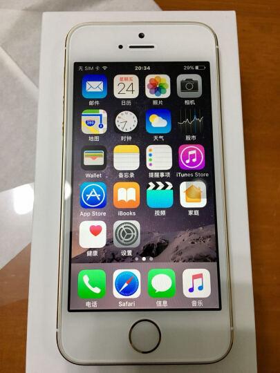 【备件库99新】苹果 iPhone 5s (A1530) 16GB 金 移动联通4G 二手手机 晒单图