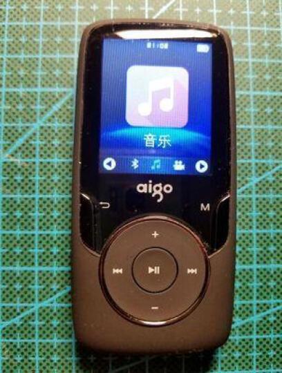 爱国者MP3蓝牙学生跑步音乐播放器可爱运动型无损HIFI有屏迷你MP4插卡学英语 MP3-102黑色8G 晒单图