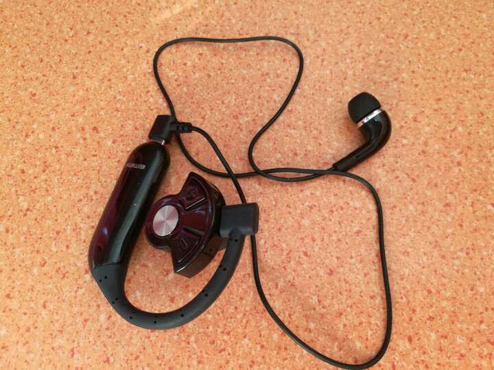 依魅 007 可换电池商务无线蓝牙耳机4.1运动音乐车载迷你蓝牙通用苹果小米华为三星手 亮黑-Plus报姓名 晒单图