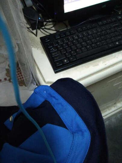 s-roeve 短袖T恤男士 夏季纯棉翻领加大码韩版修身半袖polo衫薄款logo定制班校工作服 灰黑 2XL-180/体重130-140斤 晒单图