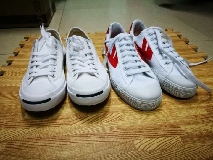 回力经典WB-1男鞋夏季经典帆布鞋男女鞋帆布鞋男女运动鞋休闲鞋 A109T白银 42 晒单图