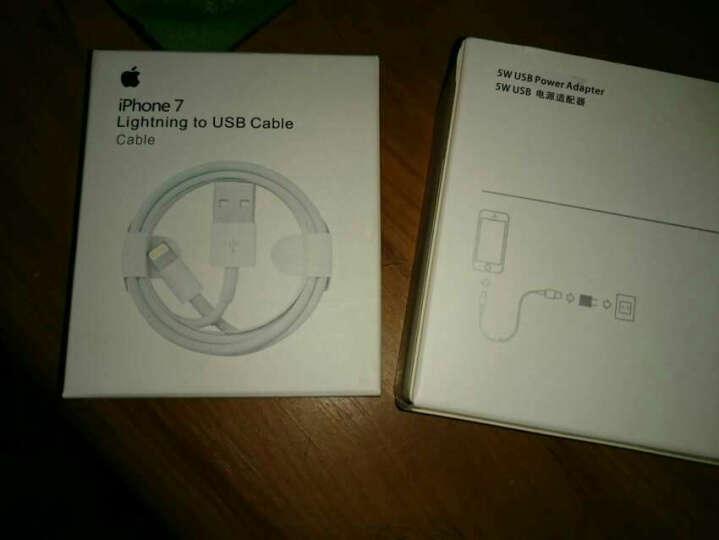 AKESR  苹果8/X数据线适用iPhone7 plus iPad苹果6s手机充电线 12W充电头 晒单图