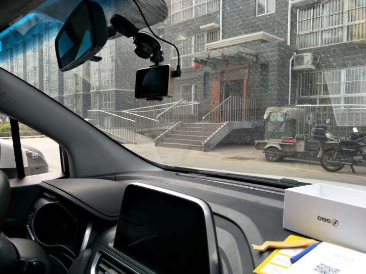 360行车记录仪 G300 plus迷你隐藏 高清夜视 远程监控行车轨迹无线WiFi电子狗测速一体 G300P+32G卡+降压线+一拖三 晒单图