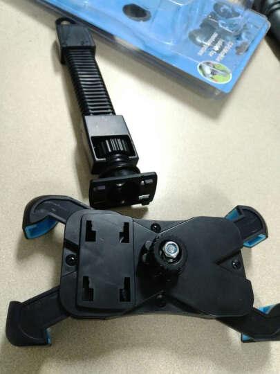 摩托车手机支架通用型电动车后视镜款支架手机导航仪支架 JS-030 蓝色 晒单图
