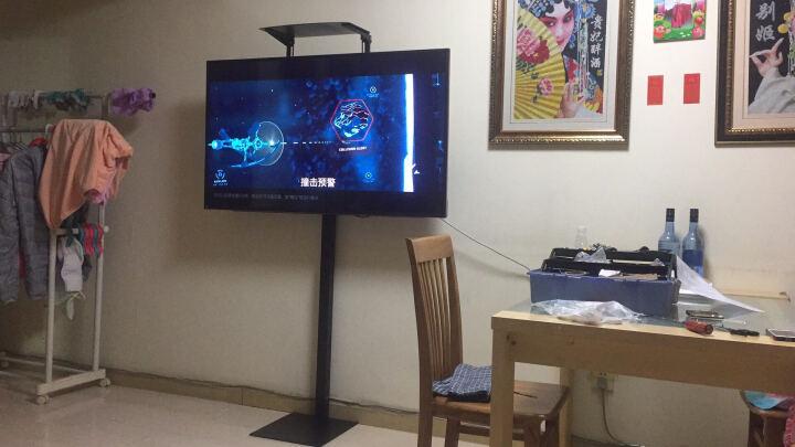威视朗32-65英寸立式升降电视机落地架液晶显示器移动挂架电视背景墙底座乐视酷开海信飞利浦广告机支架 〖组合+托盘〗L99B(32-65寸)高1.35米 晒单图