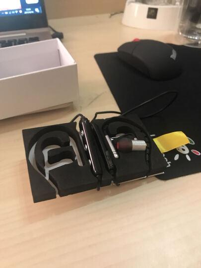 布卢图斯S-501耳机入耳式 无线跑步音乐入耳式蓝牙耳机带麦克MP3手机耳机防汗专用 S-503月光银 晒单图