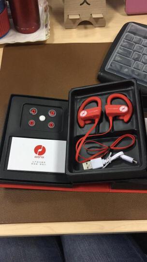 击音(iGene)Touch Sport 触控级降噪运动防水蓝牙耳机男女分款挂耳式跑步健身4.1无线HIFI  红色-男 晒单图