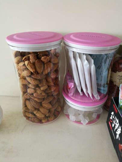 百拓牛牛 万物储物罐 优雅透明玻璃密封罐奶粉食品零食大容量厨房收纳套装 珊瑚粉套装NNGC333-SH 晒单图