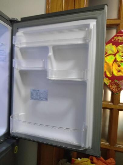 新飞(Frestec)236升 103升大冷冻室 双门冰箱 (金属拉丝灰)BCD-236DK 晒单图
