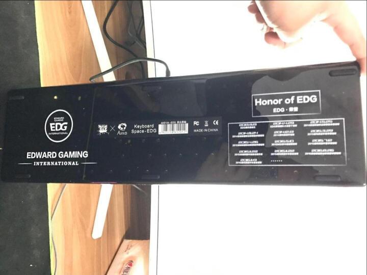 EDG旗舰店 AKS104机械键盘  Akko经典黑背光青轴黑轴lol游戏键盘 真爱粉Cherry红轴 晒单图