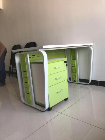 汉晨(HC) 北京办公家具 职员办公桌椅组合屏风卡座2/4/6/8人员工位 单人位+活动柜 晒单图