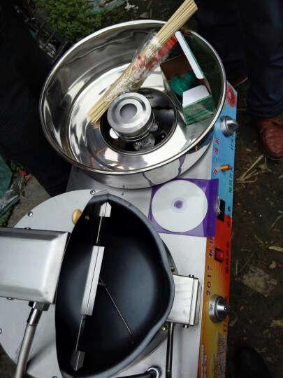 纳丽雅(Naliya)小型棉花糖机商用充电花式摆摊用燃气彩色做生意棉花糖彩糖 商用棉花糖机 晒单图