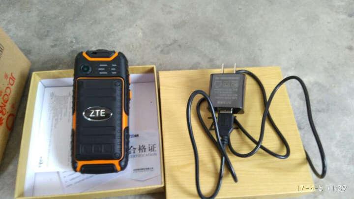 中兴(ZTE Health)健康 L628 移动/联通 三防直板老人手机老年手机超长待机 军绿色 晒单图
