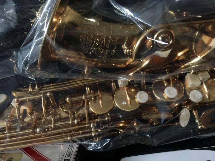 VIBRA 威柏尔降E调中音萨克斯风管乐器初学考级演奏款中音萨克斯 K300C考级款【白铜版】 晒单图