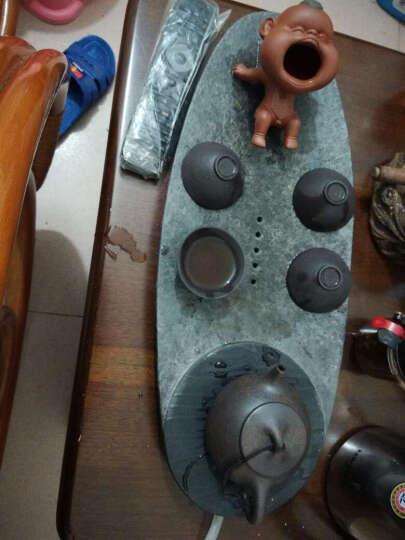 老朵茶叶 勐海500年古树老茶头600克 普洱茶 熟茶散茶【 送民族风皮桶】 晒单图